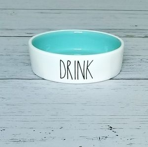 Rae Dunn Pet Bowl DRINK